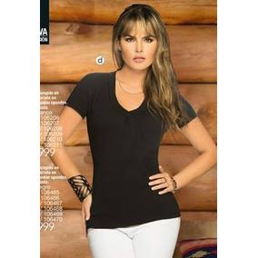 Blusa Camiseta Básica Para Mujer Carmel