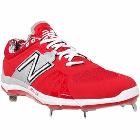 Excelentes Spikes Beisbol New Balance L3000v2 Rojo/gris