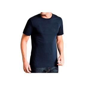 Camiseta Básica Masculina Kit Com 5 Peças + Frete Gratis