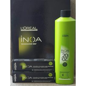 Loreal Kit Inoa Ox 20vol. 1l + 2 Coloração Inoa - Promoção