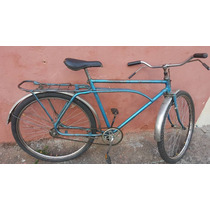 Bicicleta Caloi Barraforte Decada De 70 (only Wwod)
