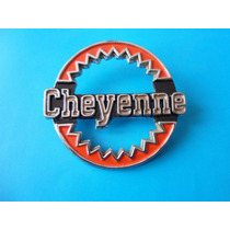 Emblema Cheyenne Camioneta Clasica Chevrolet