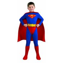 Disfraz Superman Capa Luminosa Niño L (12-14) Halloween