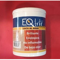 Laca Al Agua Brillante Transparente X 1 Litro. Eqarte