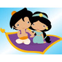 Kit Imprimible Candy Bar Princesa Jasmine Aladdin Golosinas