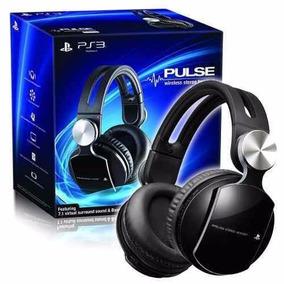 Fone De Ouvido Headset Sony 7.1 Pulse Elite Ps3 Ps4 Pcvita