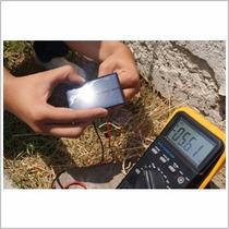 Celda Solar Silicio Cristalino 5v 80ma