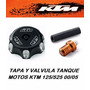 Tapa Y Valvula Tanque Gasolina Motos Ktm 125/525 Años 00-05