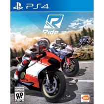 Novo Lacrado Jogo De Corrida De Moto Ride Pra Playstation 4