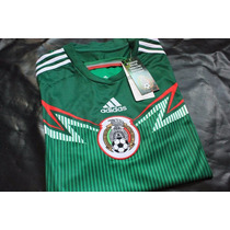 Playera Jersey Seleccion Mexico, Mundial 2014 Original
