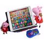 Tablet Infantil + Capa Pelucia Chaveiro E Celular Peppa Pig