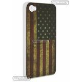 Case Capa Bandeira Eua Estados Unidos P/ Iphone 4 Iphone 4s