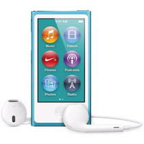 Apple Ipod Nano 7ta Gen 16 Gb Multi-touch, Fm, Pausa En Vivo