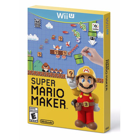 Jogo Super Mario Maker + Artbook Wii U Original