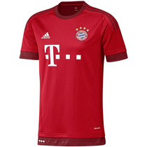 Playera Jersey Local Fc Bayern 15/16 Niños Adidas S08605