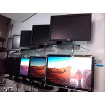 Monitores 19 Polegadas Lenovo Hp Com Os Cabos De Força Sinal
