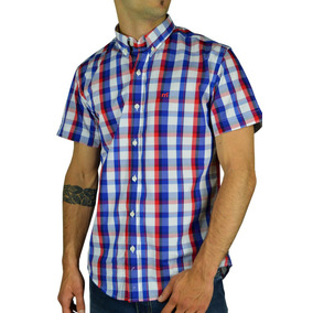 Camisa Cuadros Manga Corta Mo 13600 Slack Hombre Mistral V17