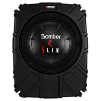 Caixa Selada Slim C/ Subwoofer 10´´ Bomber 200w Rms 4 Ohms