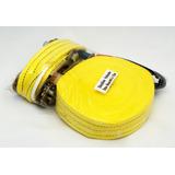 Kit Slackline Cinta 15 Metros X 50mm 3 Toneladas + Catraca