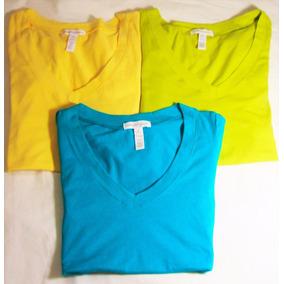 Ropa De Damas Blusa Franela Camisa 100 % Algodon