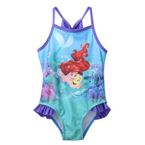 Malla Enteriza Sirenita Princesa Ariel Nena 4 - 5 Años