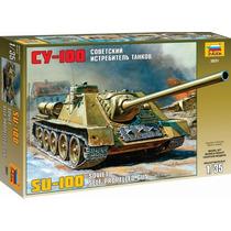 Tanque Zvezda Ruso Su 100 1/35 Armar Pintar / Revell Tamiya