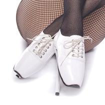 Zapatillas Fetish Tipo Oxford De Bailarina De Ballet-18
