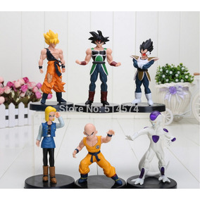 Kit 6 Peças Bonecos Dragon Ball Z 12 Cm Black Friday
