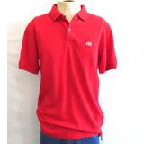 Camisa Polo Ecko Unltd Vermelha Importada Original Tamanho G