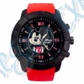 Remate Disney Reloj Mickey Mouse Para Caballero Nuevo
