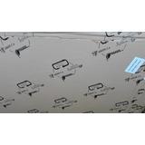 Lamina Acrilico 5mm 122x122cm Transparente Importada