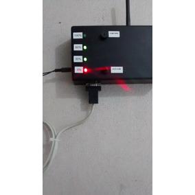 Monitoramento Do Nivel Da Caixa De Agua Com Alarme Via Sms