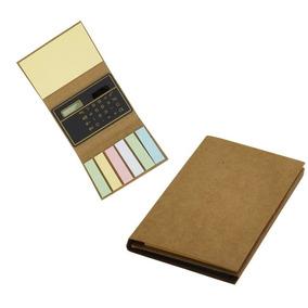 Kit 50 Blocos Ecológico Com Post-it E Calculadora 001