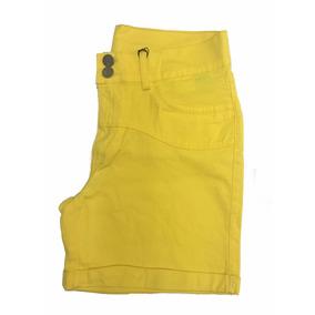 Short Sarja Feminino Lycra Plus Size Com Pequenos Defeitos