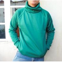 Buso Unicolor Cuello Alto Tallas Xs S M L Buzo Cuello Tortug