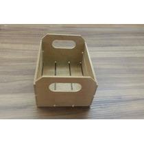 Caixote De Feira Mdf Cru Mini 12x10x7 Lembrancinha 10 Peças