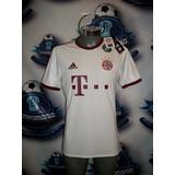 Remate Jersey Oficial adidas Bayern Munich Visita 16-17