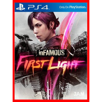 Infamous First Light Dublado Ps4 Cód.psn Promocao