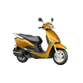 Carenagem Num. 4 L.d/l.e Lead Amarela Dourada - Orig. Honda