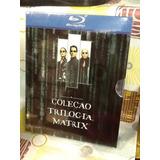 Blu-ray Matrix Trilogia A Coleção 3 Filmes