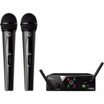 Microfone S/ Fio Akg Wms 40 Pro Mini 2 Dual Vocal