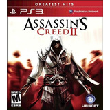Assassins Creed 2 Ps3, Greatest Hits, Nuevo Y Sellado