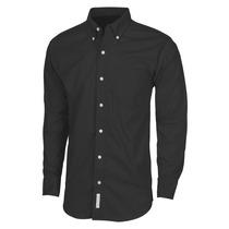 Camisa Gabardina Caballero Negra