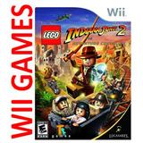 Juego Lego Indiana Jones 2 - Original Nintendo Wii Y Wii U