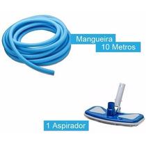 Kit Limpeza Mangueira Siliconada 10 Metros+ Aspirador 32mm