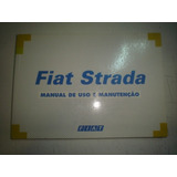 Manual Fiat Strada 2000 2001 Original Lx Working 1.5 1.6 16v