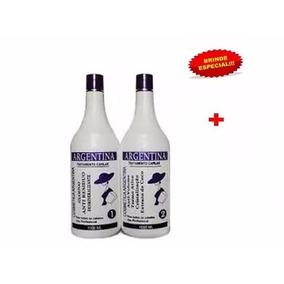 Kit Escova Progressiva Argentina 2 Produtos + Brinde