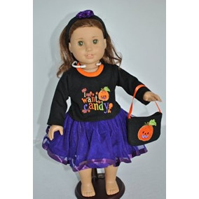 Disfraz Para Niña Traje De Halloween Con El Caramelo Del Di