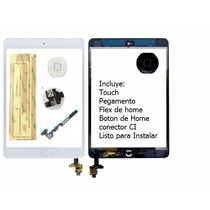 Touch Screen Ipad Mini A1432 A1454 A1455 Negro Con Conector