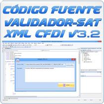 Código Fuente C# De Validador De Cfdi Xml V3.2 Del Sat